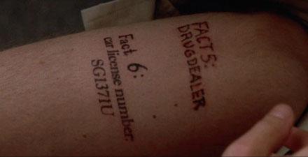 Drug Money Tattoos